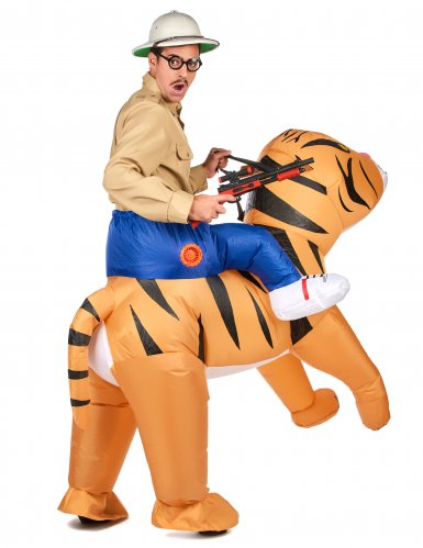 Disfraz tigre inflable adulto-2