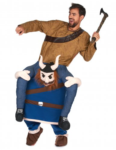 Disfraz hombre a caballito vikingo adulto