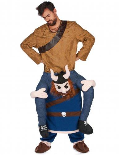 Disfraz hombre a caballito vikingo adulto-1