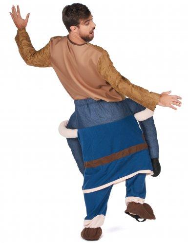Disfraz hombre a caballito vikingo adulto-2