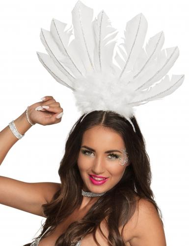 Cofia brasileña blanca mujer