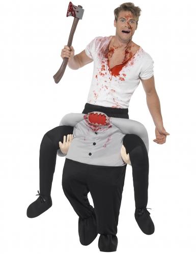 Disfraz hombre sobre hombre sin cabeza adulto Halloween
