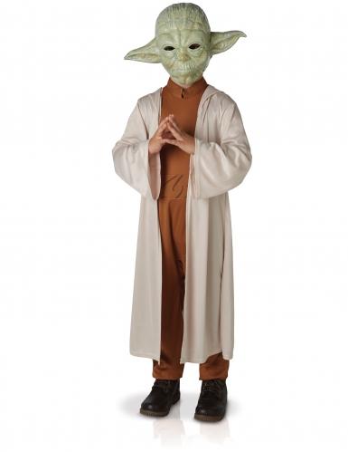 Disfraz lujo Yoda Stars Wars™ niño con máscara