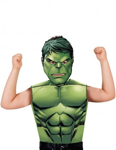 Camiseta y máscara Hulk™ niño