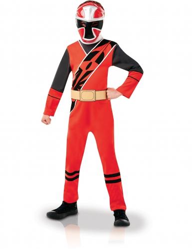 Disfraz clásico Power Rangers™ niño ninja rojo