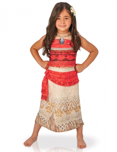 Disfraz lujo Vaiana™ niña