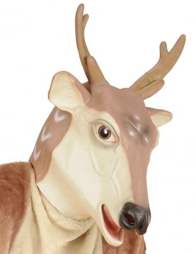 Máscara látez reno Navidad