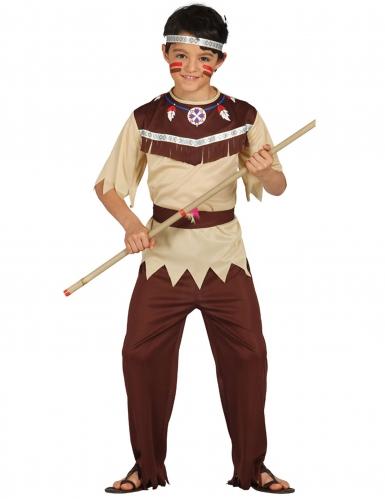 Disfraz indio cherokee niño