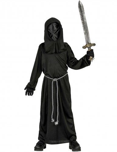 Disfraz monje de la oscuridad niño Halloween