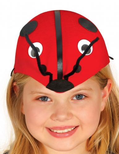 Gorra mariquita niño