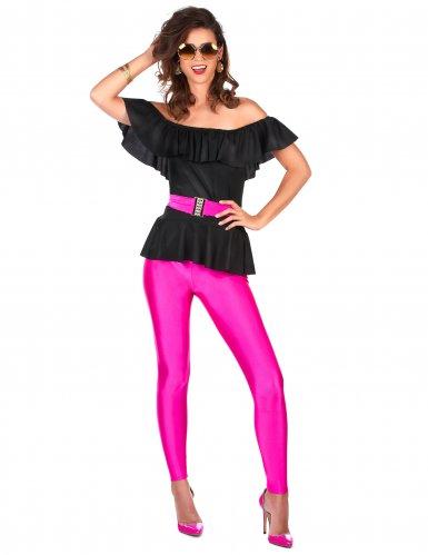 Disfraz retro de los años 80 mujer