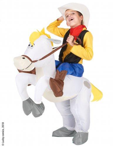 Disfraz Carry me niño Lucky Luke™ sobre Jolly Jumper