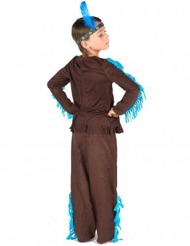 Disfraz indio marrón niño-2