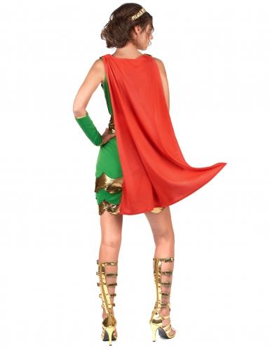 Disfraz soldado romano mujer-2