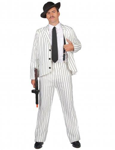 Disfraz gangster para hombre blanco