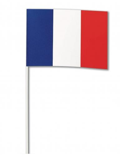 Bandera papel Francia 14 x 21 cm