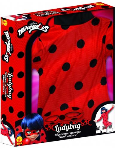 Disfraz clásico Miraculous Ladybug™ niña cofre-2