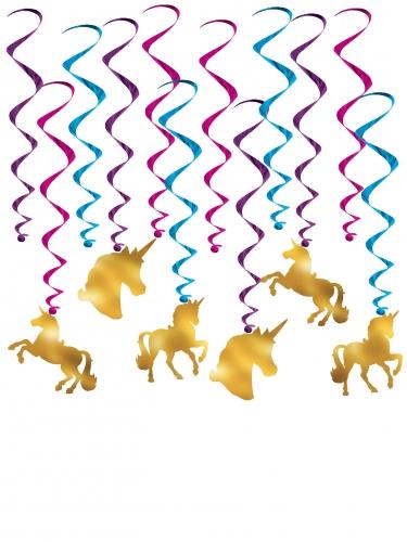 12 Decoraciones para colgar Unicornios