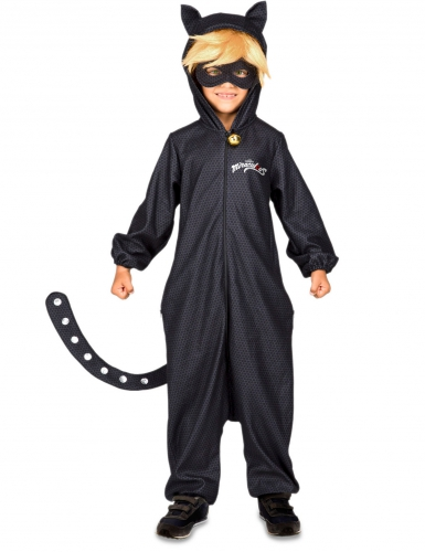 Disfraz mono Chat Noir Miraculous™ niño