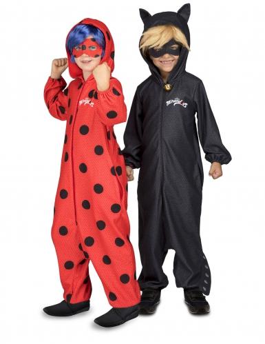 Disfraz mono Chat Noir Miraculous™ niño-1