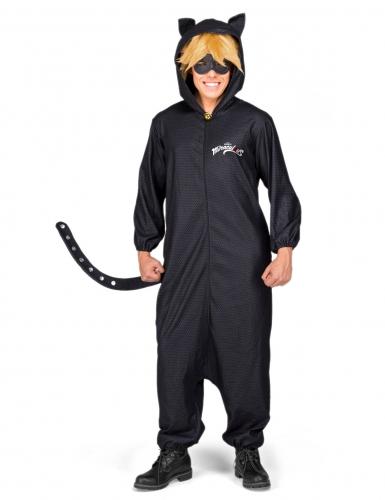 Disfraz mono Chat Noir Miraculous™ adulto