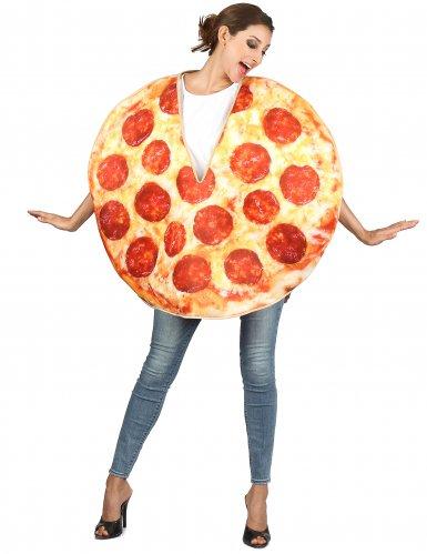 Disfraz pizza chorizo adulto