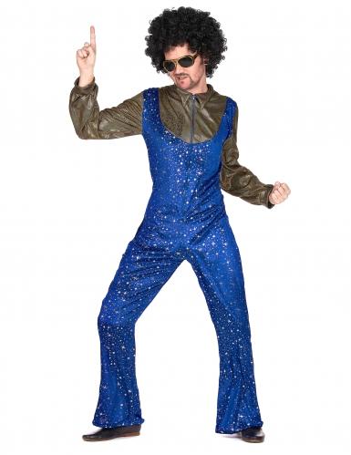 Disfraz disco azul y dorado hombre-1