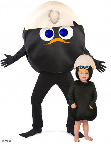Disfraz de pareja Calimero™ padre e hijo