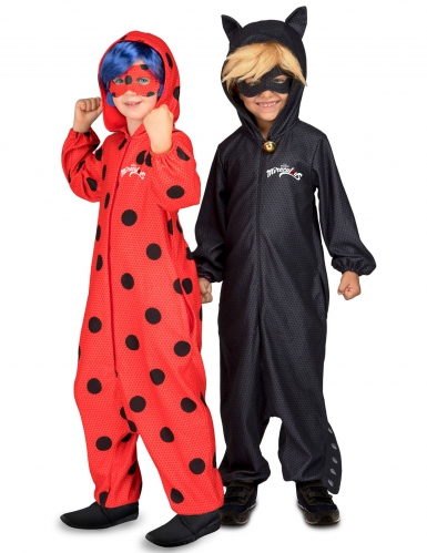 Disfraz pareja Ladybug y Chat noir Miraculous™niños