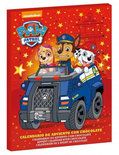 Calendario de adviento Paw Patrol™ rojo 50 gr