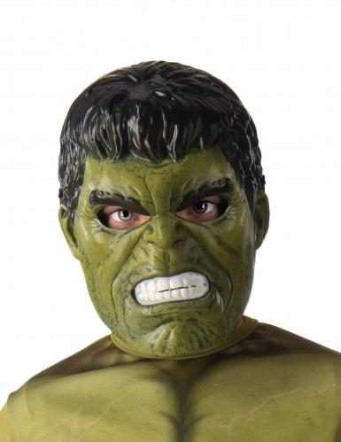 Máscara 1/2 Hulk™ niño