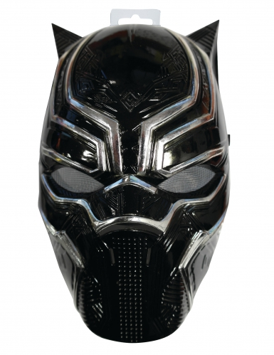 Máscara 1/2 Black Panther™ niño-1