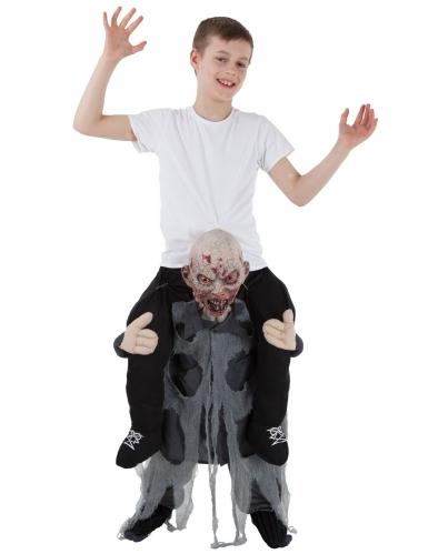 Disfraz niño montado sobre zombie niño Morphsuits™