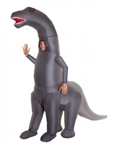 Disfraz inflable esqueleto dinosaurio gigante niño Morphsuits™