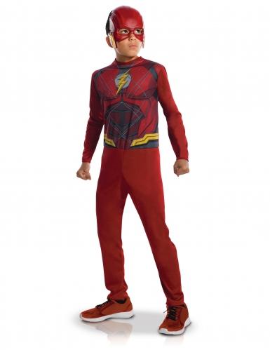 Disfraz de Flash™ niño con semi máscara