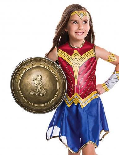 Escudo plástico Wonder Woman™ niña 30 cm