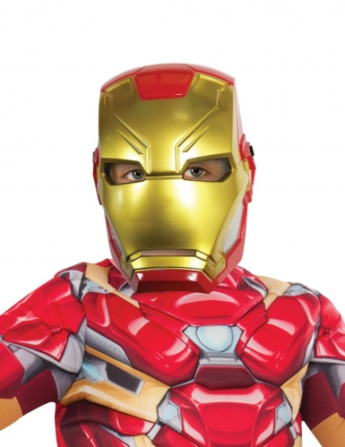 Semimáscara plástico Iron Man™