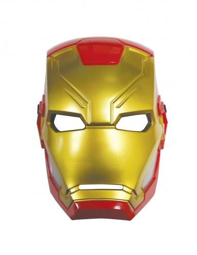 Semimáscara plástico Iron Man™-1