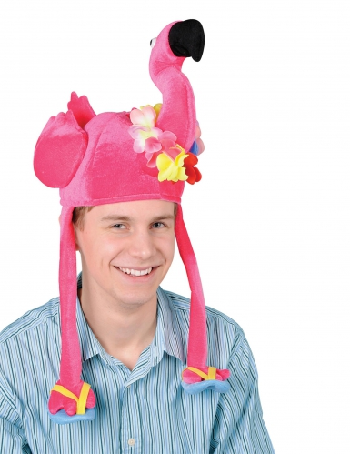 Gorro flamenco rosa