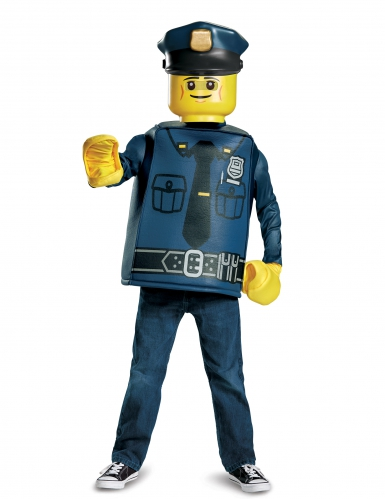 Disfraz policía Lego™ niño