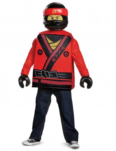 Disfraz Kai Ninjago™ LEGO® rojo niño