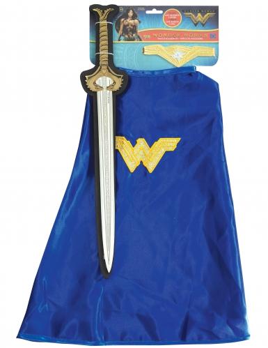 Kit espada y capa Wonder Woman™ niña