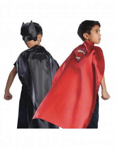 Capa reversible Batman™ y Superman La Liga de la Justicia™ niño