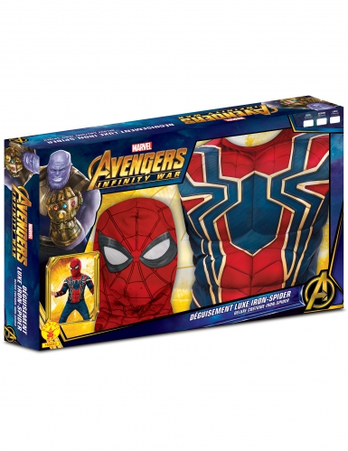 Disfraz de lujo Iron Spider Infinity War™ niño-1