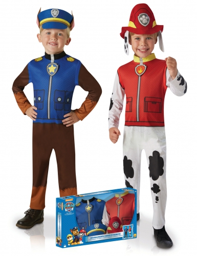 Disfraz dúo clásico Chase y Marcus™niño