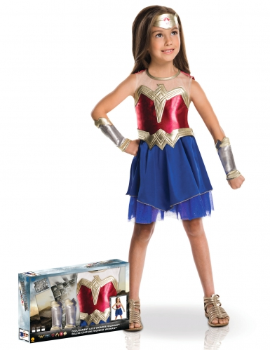 Disfraz Wonder Woman™ lujo en caja niña