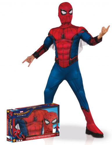 Disfraz lujo Spiderman Homecoming™ niño en caja