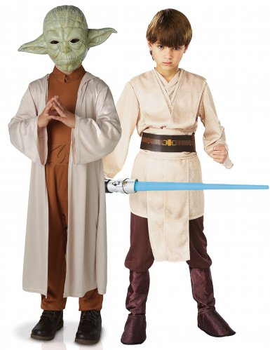 Disfraz de pareja Yoda y Jedi infantil - Star Wars™