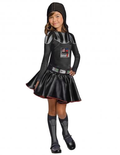 Disfraz Dark Vader™ Star Wars™ niña