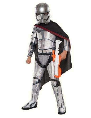 Disfraz Capitán Phasma™ Stasr Wars™de lujo niño